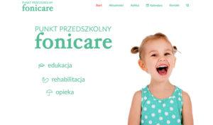 Nowa strona internetowa Punktu Przedszkolnego Fonicare